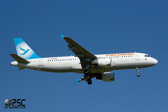 TC-FBE A320-212 132 Freebird Airlines