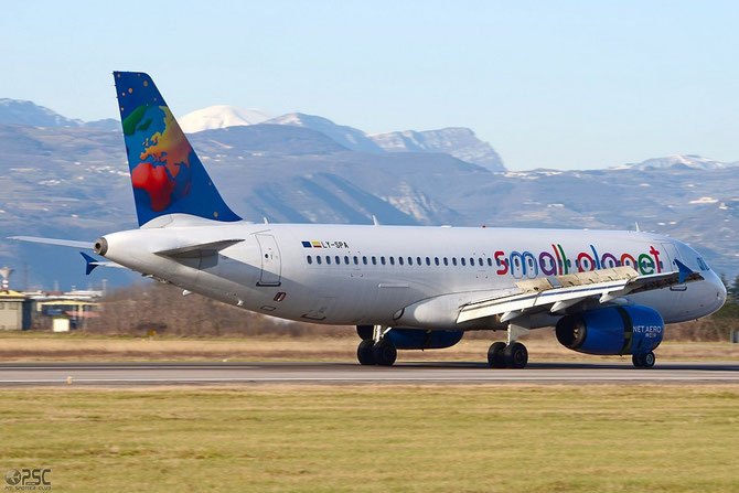 LY-SPA A320-232 1715 Small Planet Airlines @ Aeroporto di Verona © Piti Spotter Club Verona