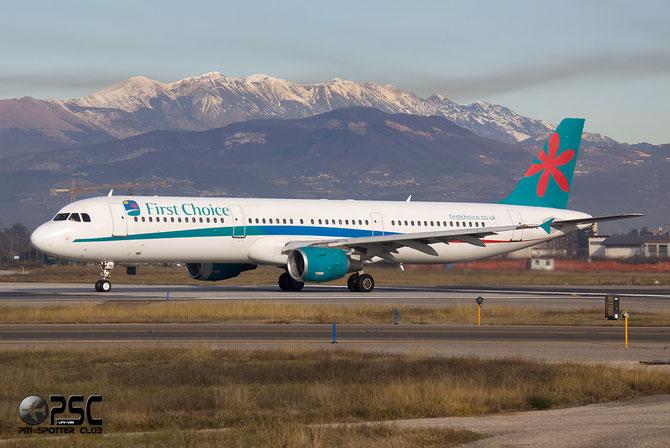 Airbus A321 - MSN 852 - G-OOPE @ Aeroporto di Verona © Piti Spotter Club Verona