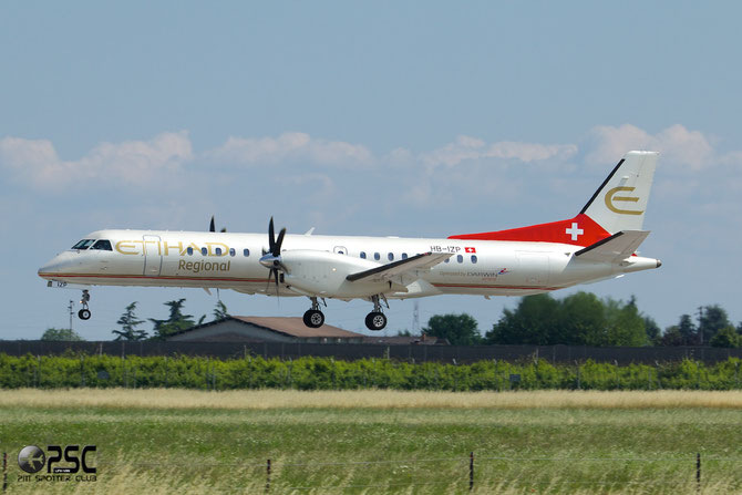 HB-IZP Saab 2000 2000-031 Darwin Airline