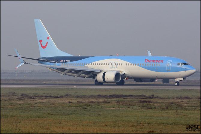 G-FDZZ B737-8K5 (Scimitar Winglets) 37262/3876 Thomson Airways @ Aeroporto di Verona © Piti Spotter Club Verona