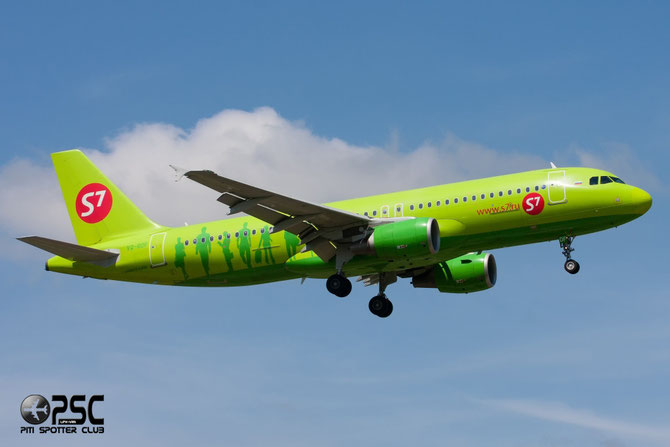 VQ-BDF A320-214 3880 S7 Airlines