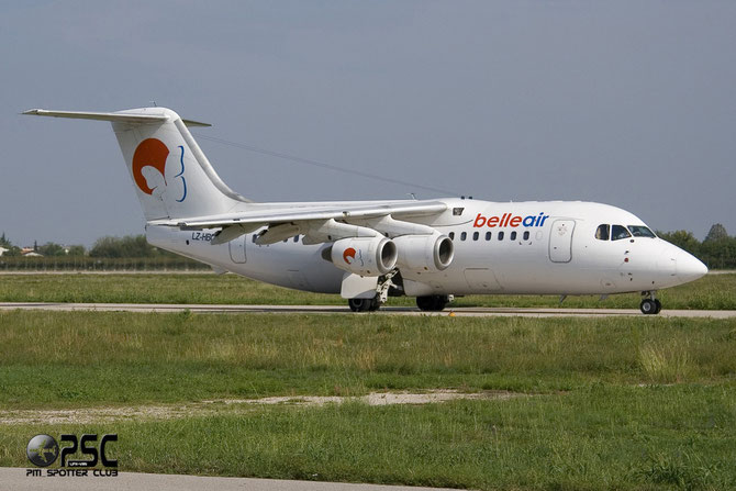 LZ-HBC BAe146-200 E2093 Belle Air