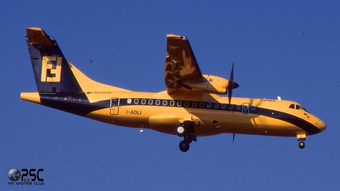 """I-ADLI, nella caratteristica livrea speciale """"Fendi"""", consegnato ad Air Dolomiti il 25 aprile 1997"""