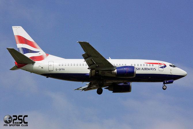 Boeing 737 - MSN 25038 - G-GFFA @ Aeroporto di Verona © Piti Spotter Club Verona
