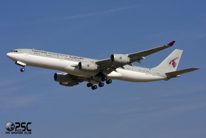 A7-HHH A340-541 495 Government of Qatar - Qatar Airways Amiri Flight