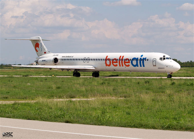 ZA-ARB MD-82 48095/1055 Belle Air