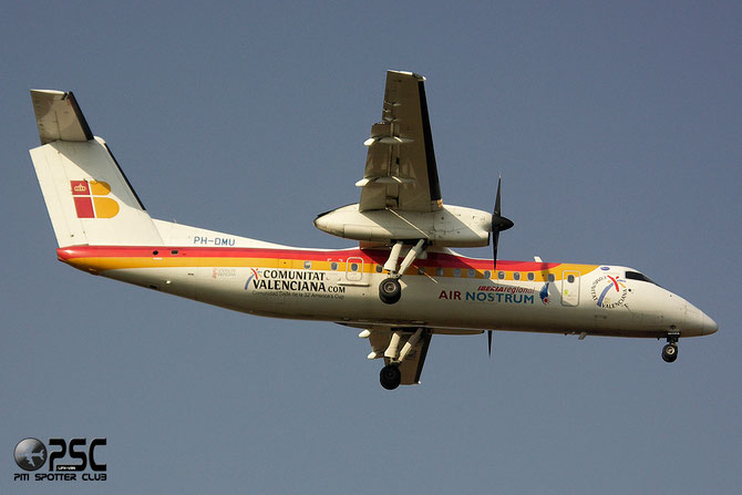PH-DMU DHC-8-315 568 Air Nostrum