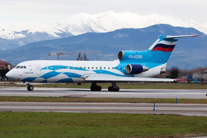 RA 42365 - Tulpar Air Service - Yakovlev Yak-42D