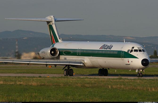 I-DAWI MD-82 49194/1130 Alitalia @ Aeroporto di Verona © Piti Spotter Club Verona