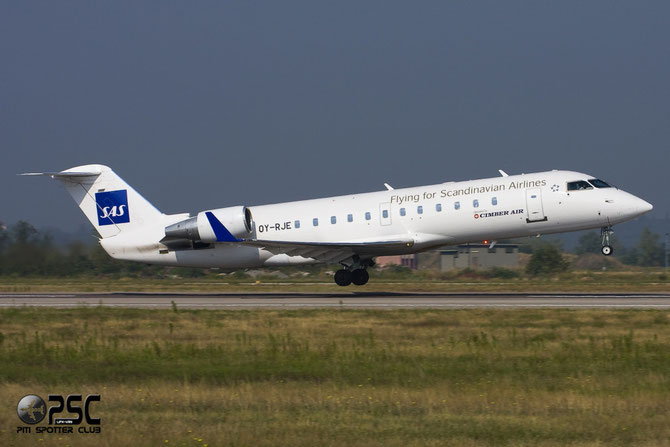 OY-RJE CRJ100LR 7009 SAS Scandinavian Airlines - Scandinavian Airlines System