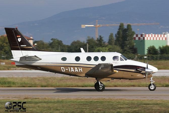 D-IAAH Beech C90A LJ-1247 Christine Volkmann / Steuerberater Dietmar Volkman