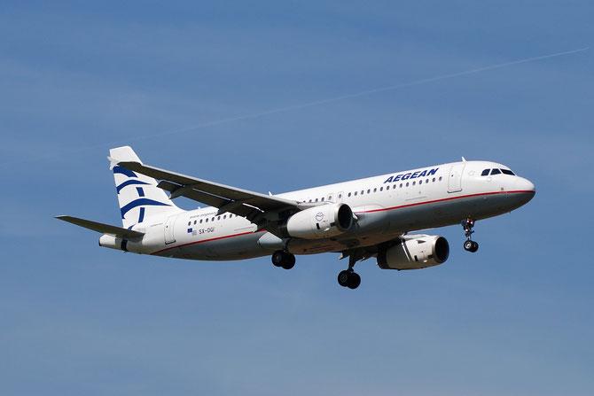 SX-DGI A320-232 3162 Aegean Airlines @ Aeroporto di Verona © Piti Spotter Club Verona