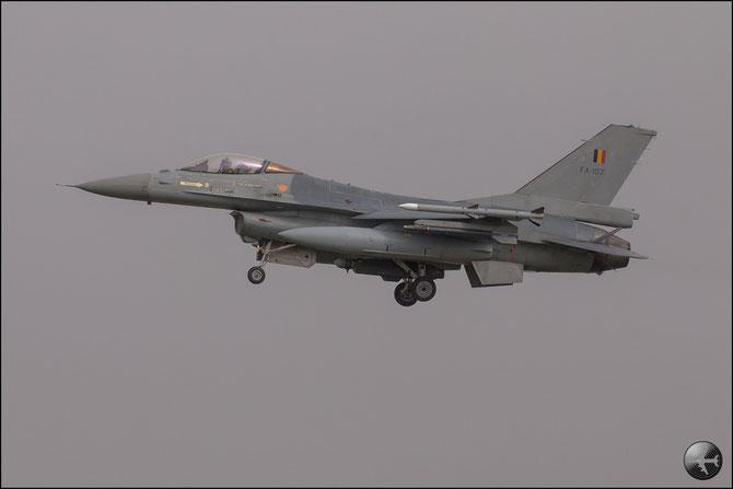 Belgium - FA107  F-16AM 6H-107 10w © Marco Sangrigoli - Piti Spotter Club Verona