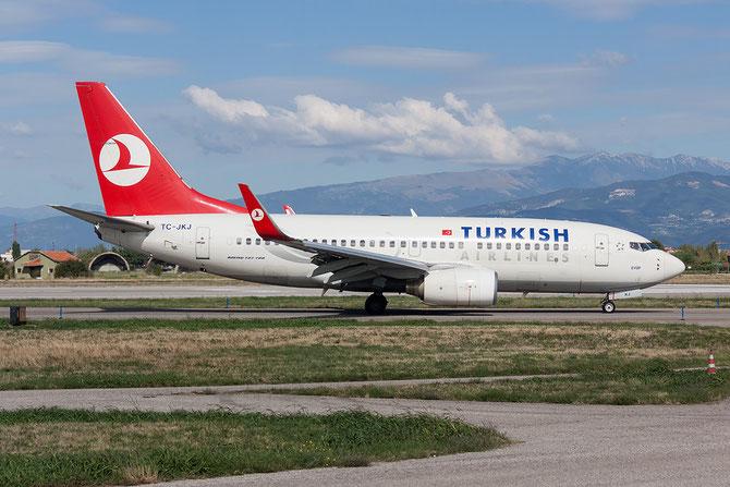 TC-JKJ B737-752 34297/1808 THY Turkish Airlines - Türk Hava Yollari @ Aeroporto di Verona © Piti Spotter Club Verona