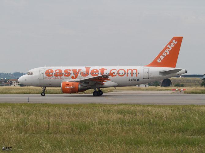 Airbus A319 - MSN 2854 - G-EZBB @ Aeroporto di Verona © Piti Spotter Club Verona