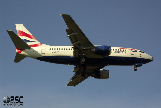 Boeing 737 - MSN 25789 - G-GFFB @ Aeroporto di Verona © Piti Spotter Club Verona
