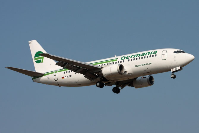 D-ADIH B737-3Y0 23921/1513 Germania Flug
