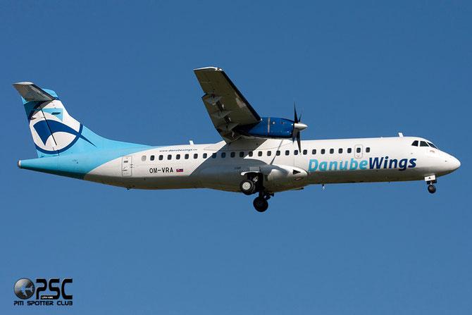 OM-VRA ATR72-202 373 Danube Wings