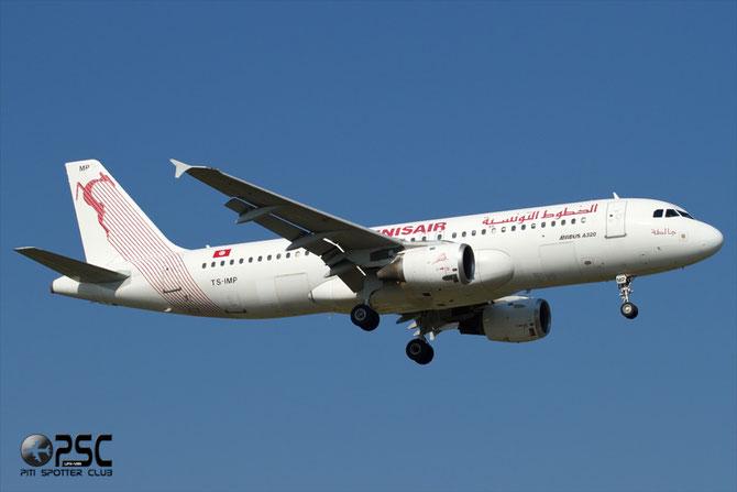 TS-IMP A320-211 1700 Tunis Air @ Aeroporto di Verona © Piti Spotter Club Verona