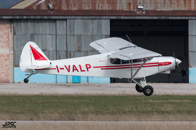 I-VALP - Piper PA 18 Super Cub - @ Aeroporto Verona Boscomantico © Piti Spotter Club Verona