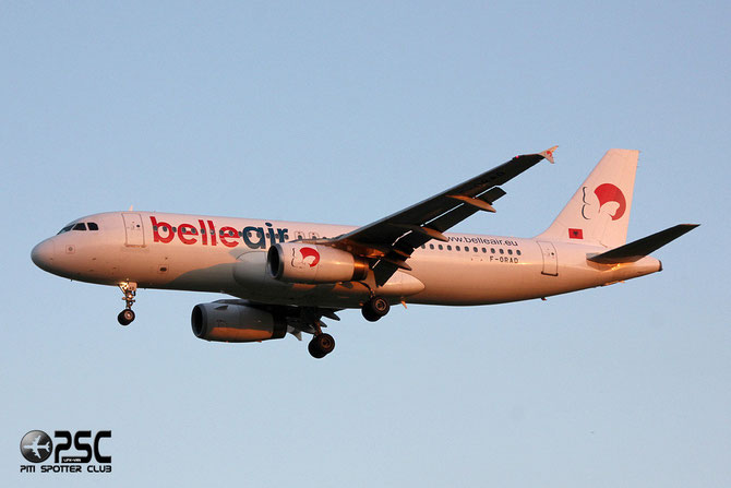 F-ORAD A320-233 558 Belle Air