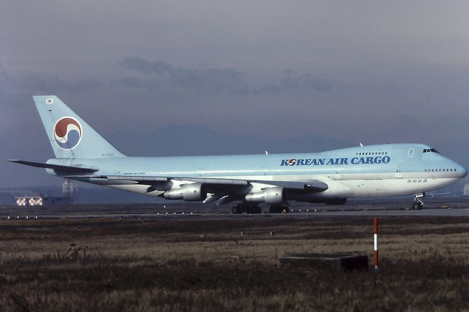 HL7458 B747-2B5BF 22485/513 Korean Air