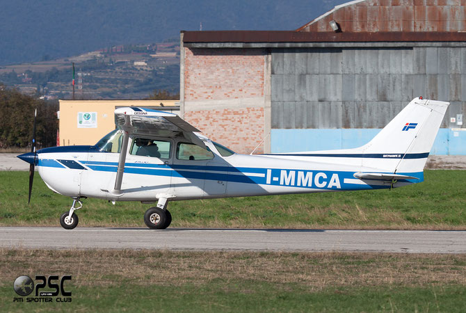 I-MMCA - Cessna 172 Skyhawk  @ Aeroporto Verona Boscomantico © Piti Spotter Club Verona