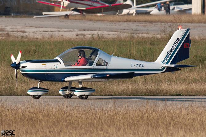 I-7112 - Evektor-Aerotechnik EV-97 Eurostar @ Aeroporto Verona Boscomantico © Piti Spotter Club Verona