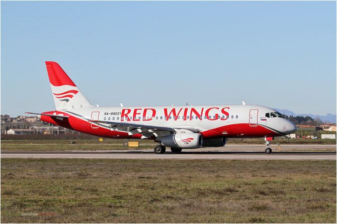95021 RRJ-95B RA-89021 Red Wings @ Aeroporto di Verona - 2016 © Piti Spotter Club Verona
