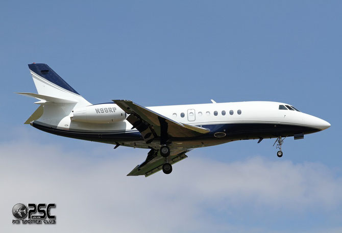 N98RP Falcon 2000 186 Radar Management LLC