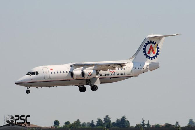 ZA-MAL BAe146-200A E2054 Albanian Airlines