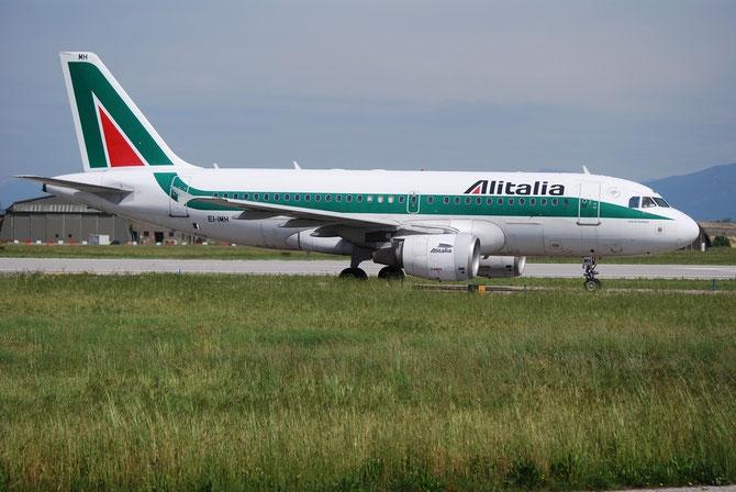 EI-IMH A319-112 2101 Alitalia