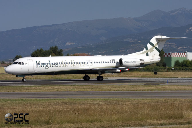 I-GIOI Fokker 100 11307 Eagles Airlines