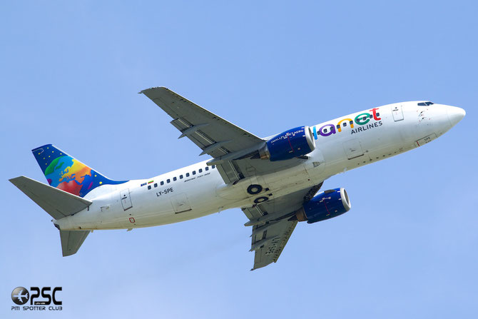 LY-SPE B737-31S 29055/2923 Small Planet Airlines