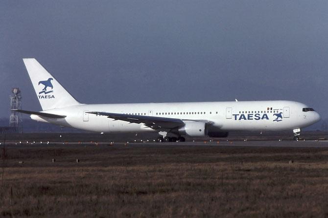 XA-SKY B767-3Y0ER 25411/408 TAESA - Transportes Aéreos Ejecutivos