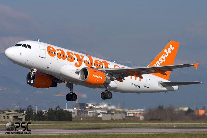 Airbus A319 - MSN 2481 - G-EZIK @ Aeroporto di Verona © Piti Spotter Club Verona