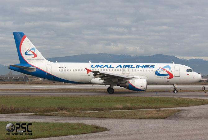 Airbus A320 - MSN 1152 - VQ-BFV  @ Aeroporto di Verona © Piti Spotter Club Verona