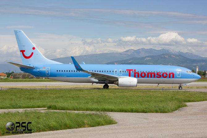 Boeing 737 Next Gen - MSN 37253 - G-FDZU @ Aeroporto di Verona © Piti Spotter Club Verona