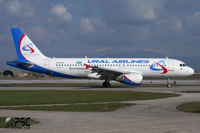 Airbus A320 - MSN 1777 - VQ-BCZ @ Aeroporto di Verona © Piti Spotter Club Verona