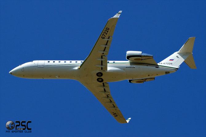 Kolavia Bombardier CL-600-2B19 Challenger 850 - RA-67220 @ Aeroporto di Verona © Piti Spotter Club Verona