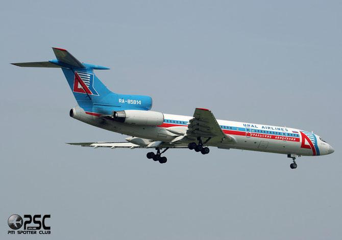 Airline: Ural Airlines Aircraft: Tupolev Tu-154M - RA-85814 @ Aeroporto di Verona © Piti Spotter Club Verona