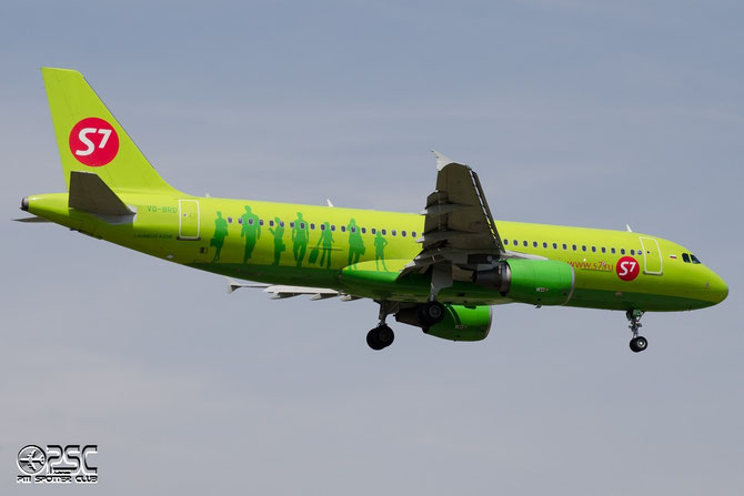 VQ-BRD A320-214 5031 S7 Airlines