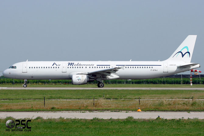 F-GYAJ A321-211 2707 Air Méditerranée