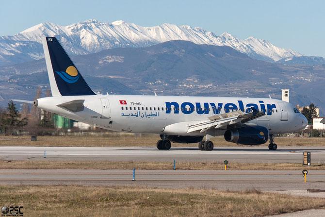 TS-INS A320-232 3089 Nouvelair Tunisie @ Aeroporto di Verona © Piti Spotter Club Verona