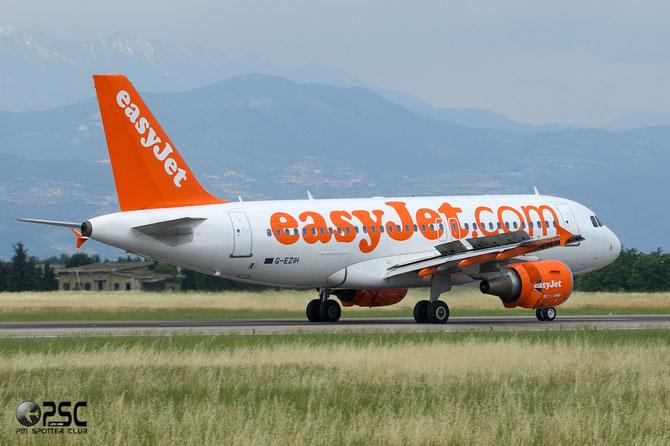 G-EZIH A319-111 2463 EasyJet Airline