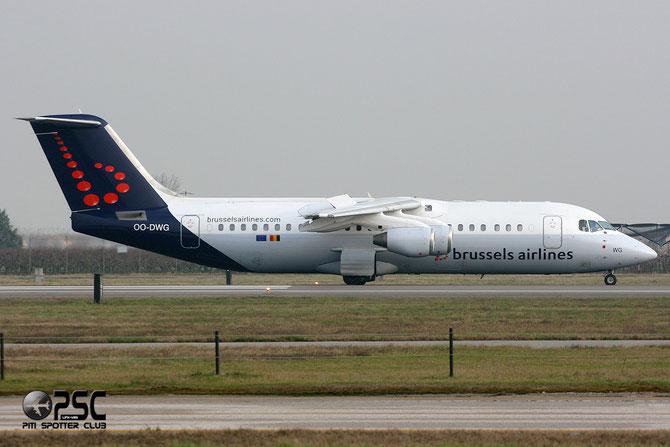 OO-DWG BAe146-RJ100 E3336 Brussels Airlines