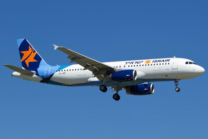 4X-ABF A320-232 4354 Israir