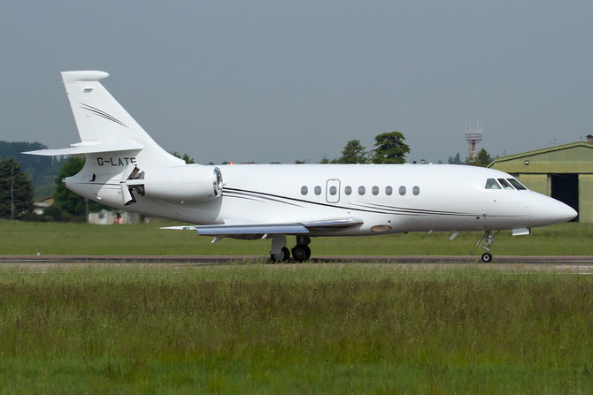 G-LATE Falcon 2000EX-EASy 088 Hangar 8 Ltd.