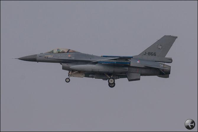 Netherlands - J-866  F-16AM 6D-83 312/313sq © Marco Sangrigoli - Piti Spotter Club Verona